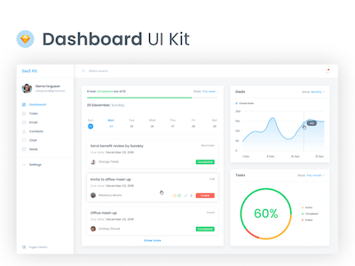 CRM Dashboard UI Kit