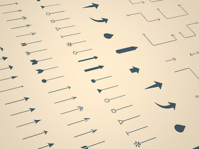 Sketch Hunt Arrows and Lines Pack