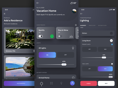 Smart Home UI Kit