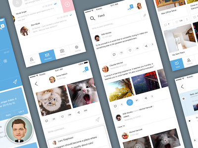 Social App iOS UI Kit