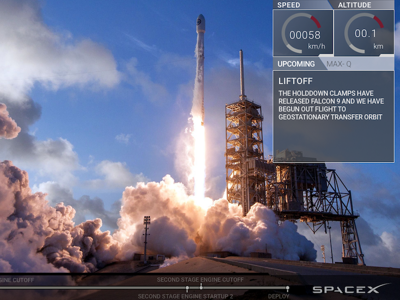 SpaceX Live Player