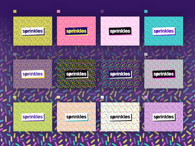 Sprinkles Pattern