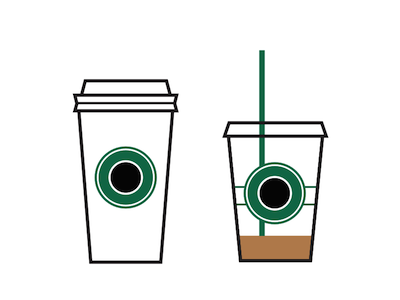 Starbucks Icons for Coffee Day