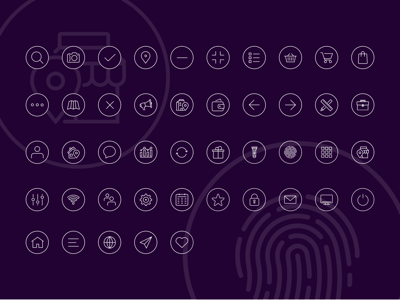 Stroke Icon Set