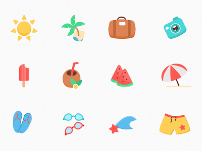12 Summer Icons