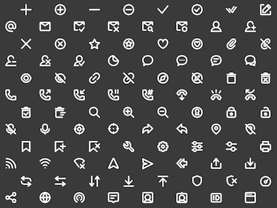 96 Super Basic Icons