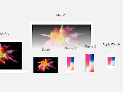 Super Clean Apple Mockups