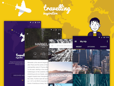 Traveling Inspiration App