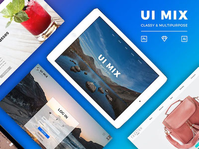 UI MIX Sample