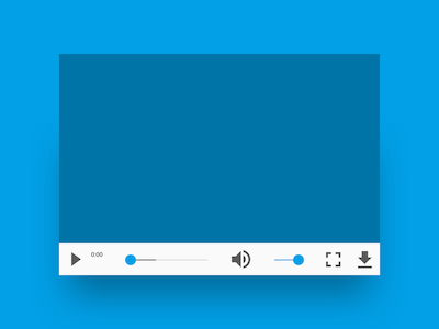 Simple Web Video Player
