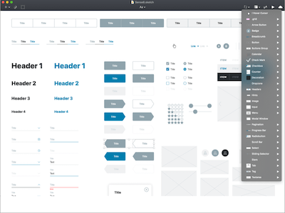 Ultimate Wireframe Kit