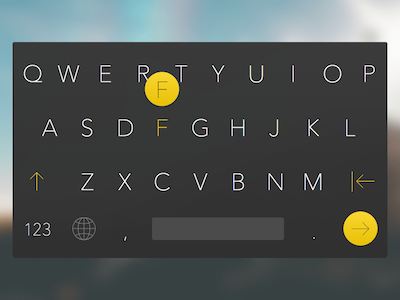 iOS Keyboard