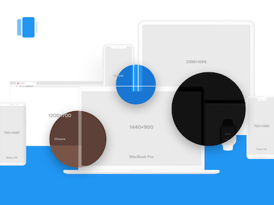Vector Mockups Library 2.0
