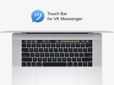 VK Messenger Touch Bar