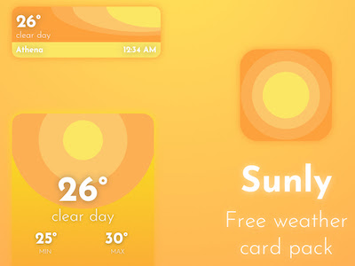 Sunly Weather Cards