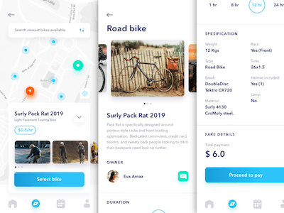 Bicycle Sharing App