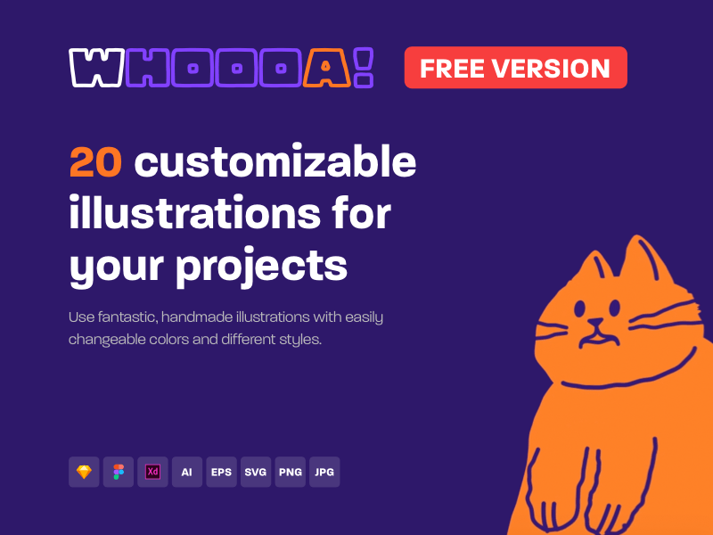 20 Customizable Illustrations