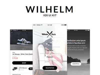 Wilhelm iOS UI Kit