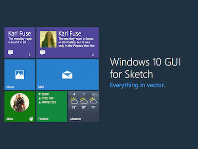 Windows 10 UI Kit