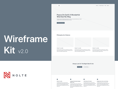 Nolte Wireframe Kit v2