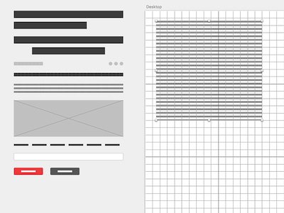 Resizable Wireframe Elements