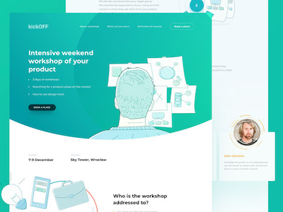 Workshop Landing Page