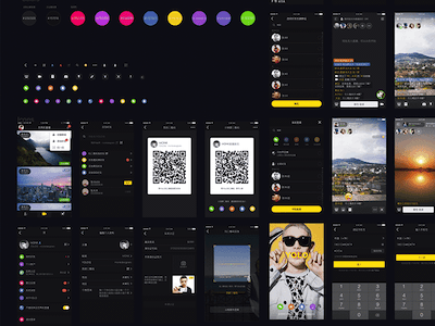 YOLO Black UI Kit