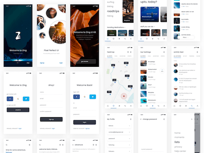 Zing iOS UI Kit