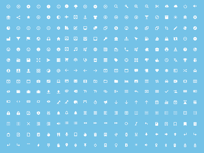 297 High Quality Icons