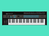 Glorious Yamaha DX7