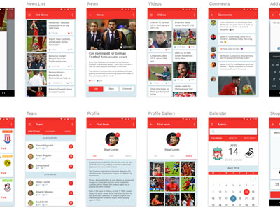 Android Mobile UI Kit