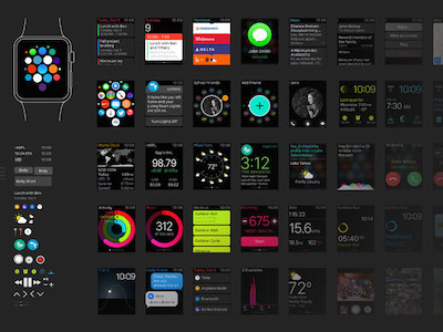 Apple Watch UI Kit v2