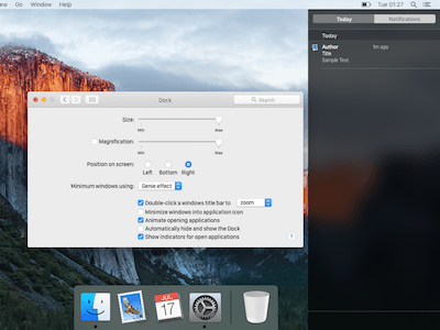 El Capitan UI Kit