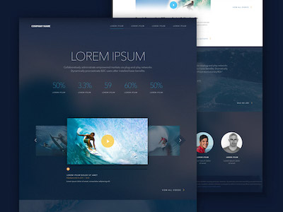 Landing Page Template Sketch Freebie Download Free Resource For - Website landing page templates