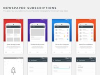 Newspaper Subscription App
