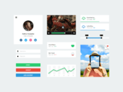 UI Kit for Web and Mobile