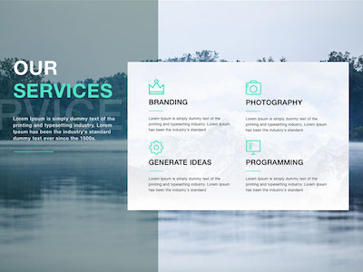 Key.t One Page Web Template