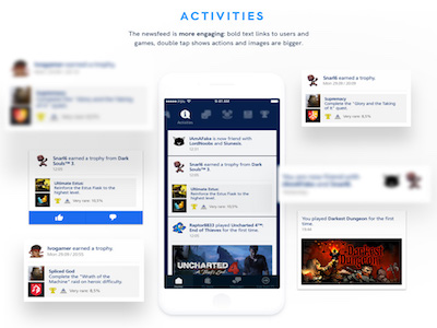 PlayStation App Redesign UI Kit