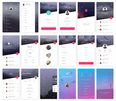 Do Ui Kit For Sketch Sketch Resource For Sketch Image Zoom
